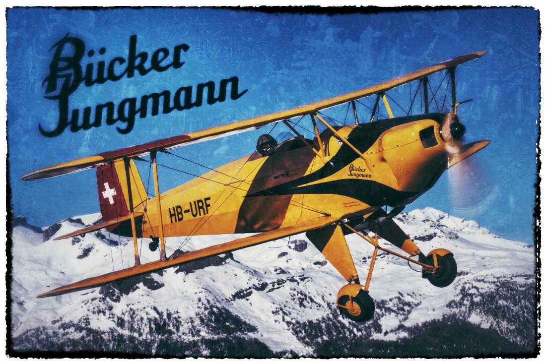 Warbirds - Bücker Jungmann